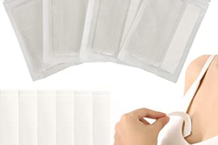 Double-stick apparel tape untuk menjaga posisi pakaian.
