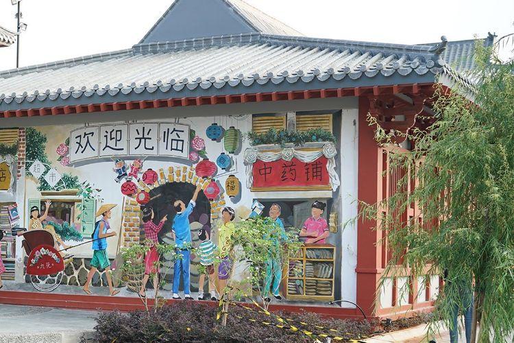Kawasan Chinatown Pantjoran PIK di Golf Island PIK 2