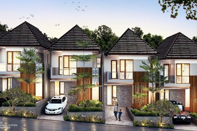 Desain  VASAKA Residence yang akan digarap Waskita Karya Realty