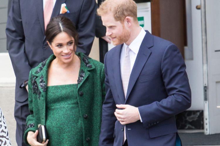 Meghan Markle dan Pangeran Harry menyambut kelahiran anak kedua mereka, Lilibet Diana Mountbatten-Windsor, Jumat (4/6/2021).