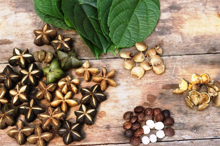 Sacha inchi, tanaman asli hutan Amazon Peru yang sukses dikembangkan seorang petani di Cianjur, Jawa Barat.