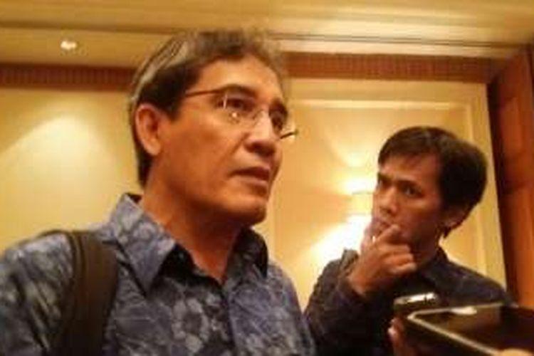 Komisioner KPU Pusat, Hadar Nafis Gumay di Hotel Arya Duta, Jakarta Pusat, Senin (15/2/2016).