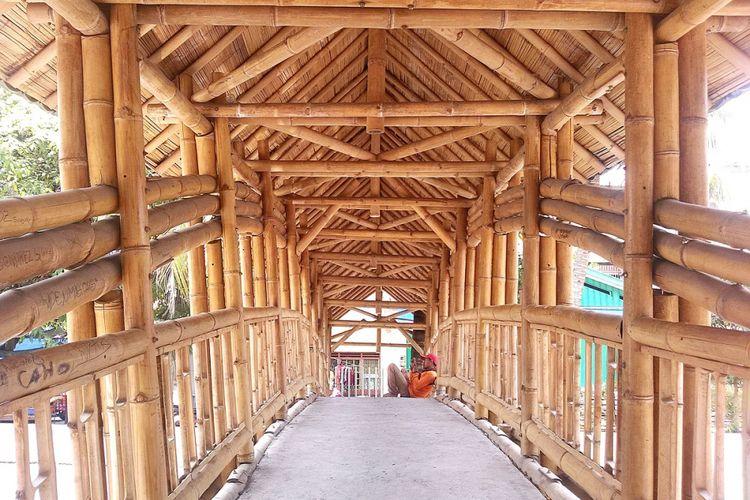 Bambu juga bisa digunaka sebagai salah satu material jembatan