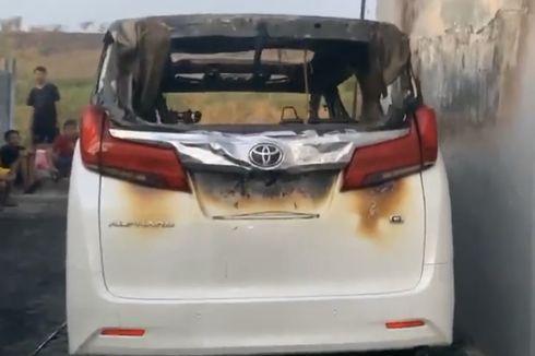 Terduga Pembakar Mobil Alphard Via Vallen Berbicara Melantur