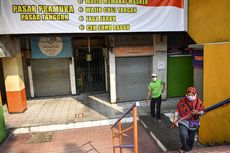 Kini Ada 273 Pedagang di 43 Pasar Jakarta Positif Covid-19, Berikut Daftarnya
