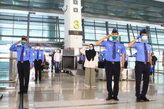 Intip Suasana Peringatan Detik-detik Proklamasi di Bandara Soekarno-Hatta