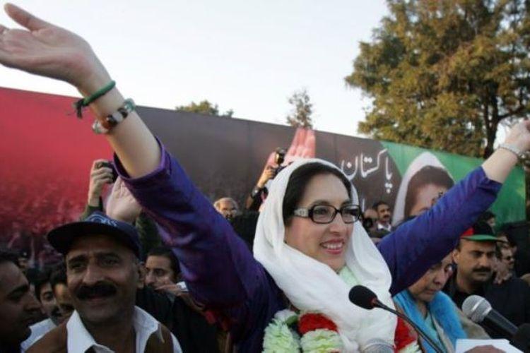 Benazir Bhutto adalah perempuan pertama yang menjadi kepala pemerintahan di Pakistan. (BBC)