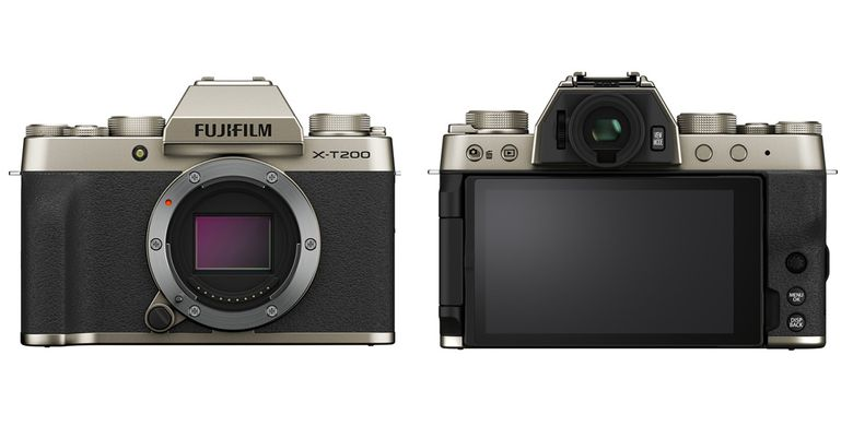 Fujifilm X-T200 dalam warna