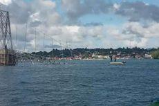 Tali Putus, Jembatan Penghubung Kota Tual dan Maluku Tenggara Ambruk