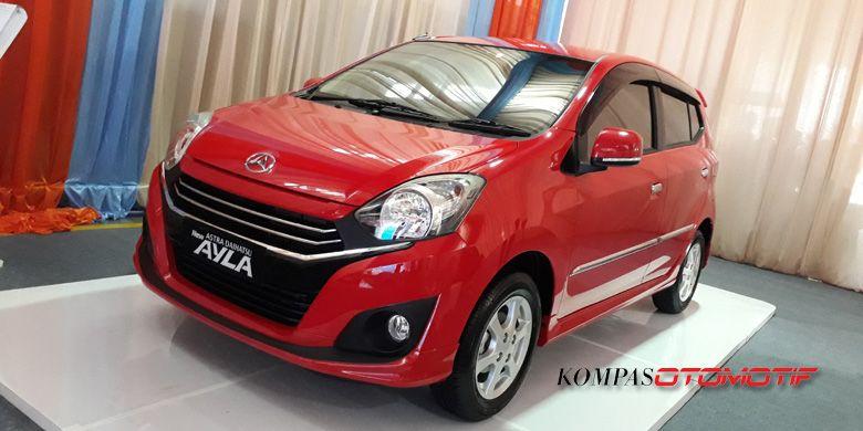 Daihatsu New Ayla dengan pilihan mesin 1.000 cc.