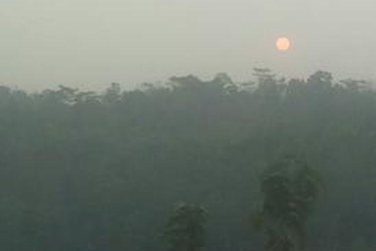 Suasana di Jenawi, Karanganyar, Jawa Tengah.
