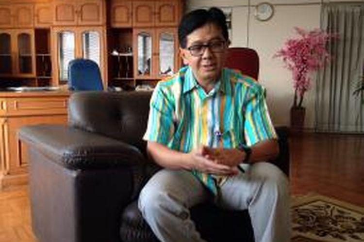 Kepala Badan Teknologi Nuklir Nasional (Batan) Djarot Sulistio Wisnubroto