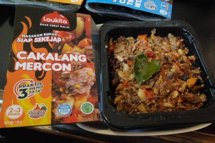 Laukita, makanan beku dengan cita rasa khas Indonesia.