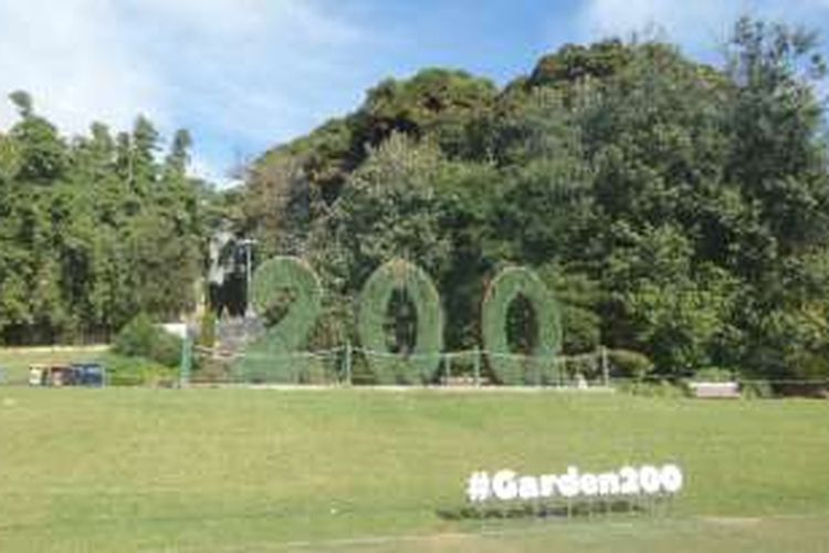 Royal Botanic Garden di Sydney, New South Wales, Australia.