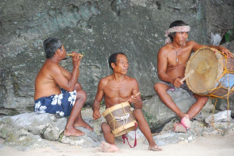 Penduduk Desa Tagbanua, Coron, keturunan Austronesia di Filipina