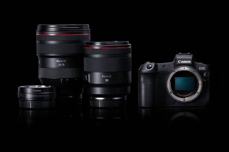Mirrorless Full-Frame Canon EOS R