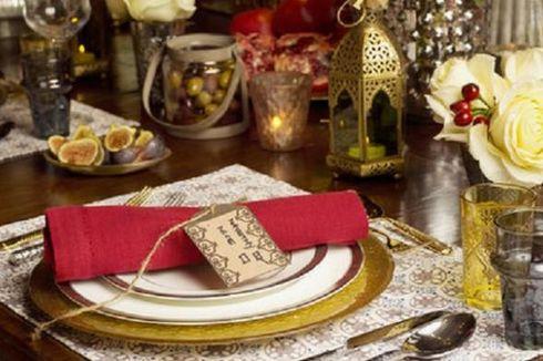 Batalkan Reservasi di Restoran, Tata Meja Makan Lebih Atraktif!