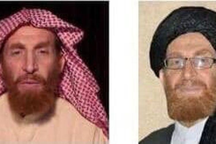 Kolase foto Abu Muhsin Al-Masri.