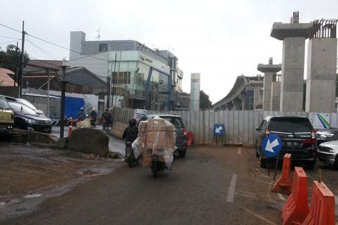 Warga Diimbau Hindari Jalan Fatmawati Selama Pembangunan Stasiun MRT