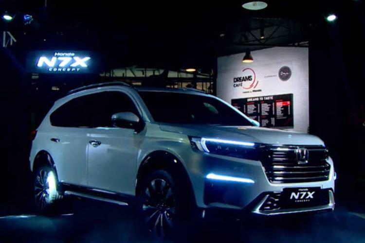 Honda N7X Concept, Calon mobil 7 penumpang baru Honda untuk Indonesia