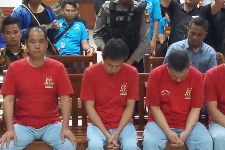 Hakim Pn Batam Vonis Mati 3 Penyelundup 1 Ton Sabu Asal Taiwan