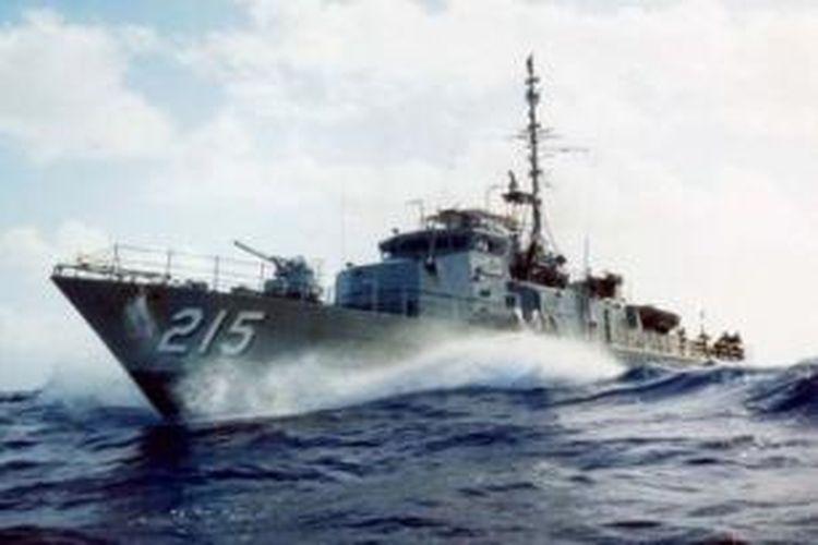Salah satu kapal perang milik AL Australia.