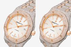 Jam Tangan Mewah 777 Gunakan Berlian 18 Karat