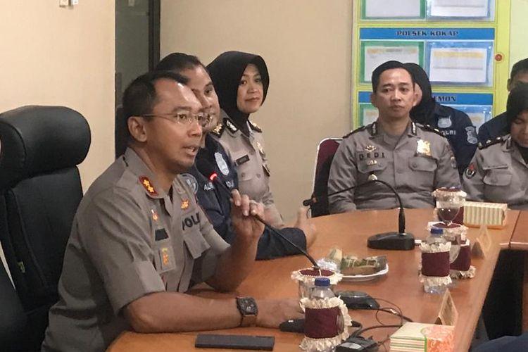 Kapolres Kulon Progo, AKBP Anggara Nasution, di Mapolres Kulon Progo, Yogyakarta, Rabu (9/10/2019).