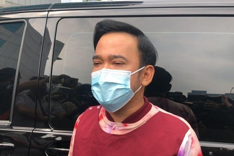 Ruben Onsu saat ditemui di kawasan Tendean, Jakarta Selatan, Senin (23/11/2020).