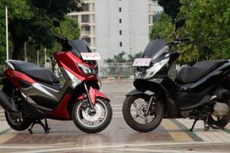 Mana Yang Lebih Lengkap Dan Canggih Honda Pcx Atau Yamaha Nmax