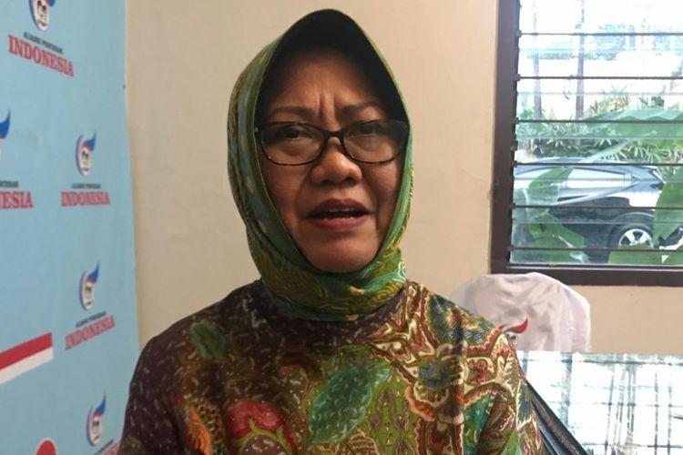 Pengamat Politik Lembaga Ilmu Pengetahuan Indonesia (LIPI) Siti Zuhro saat ditemui di sebuah acara diskusi di kawasan Jakarta Timur, Kamis (10/1/2019).