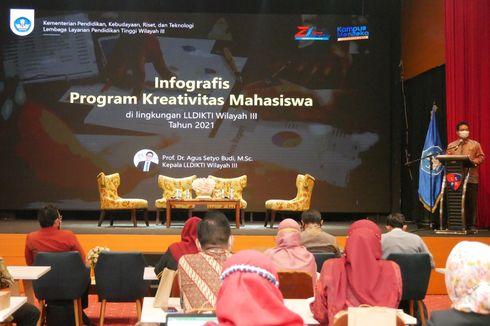 LLDikti Wilayah III Imbau Kampus Akselerasi Program Kreativitas Mahasiswa