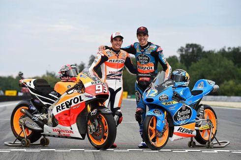 Marquez Peringatkan Adiknya, Motor Honda Sulit Dijinakkan