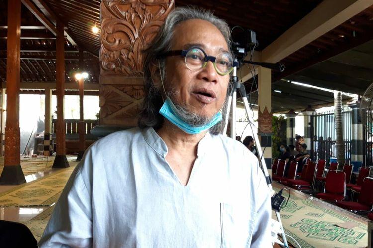 Butet Kartaredjasaditemui di Rumah Duka Dusun Gayam, Desa Argosari, Kecamatan Sedayu, Kabupaten Bantul, Rabu (4/11/2020).