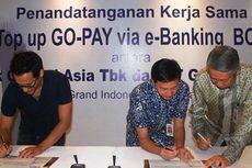 Wah,Top up GO-PAY Kini Bisa Lewat e-Banking BCA