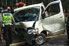 Tabrakan Beruntun Mobil Pembawa Ayam Potong di Banyuasin, Satu Tewas