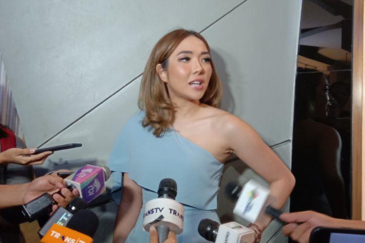 Gisella Anastasia alias Gisel menghadiri acara Urban Quarter di Plaza Indonesia,  Jalan MH Thamrin, Jakarta Pusat, Selasa (29/1/2019).