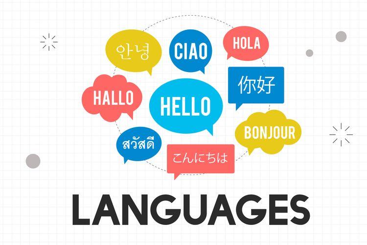 Ilustrasi bahasa di dunia
