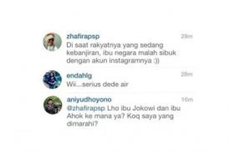 Instagram Ani Yudhoyono