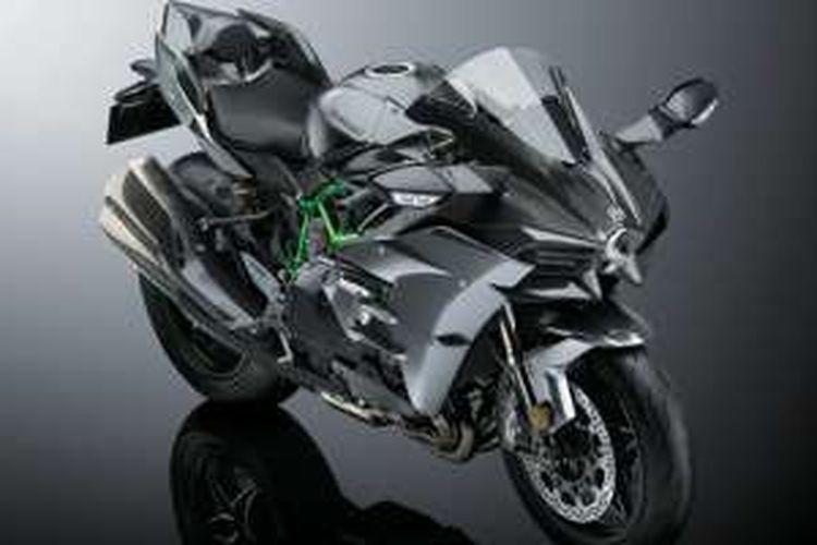 Kawasaki Ninja H2r >> Lebih Mahal Ratusan Juta Ini Keistimewaan Ninja H2 Carbon