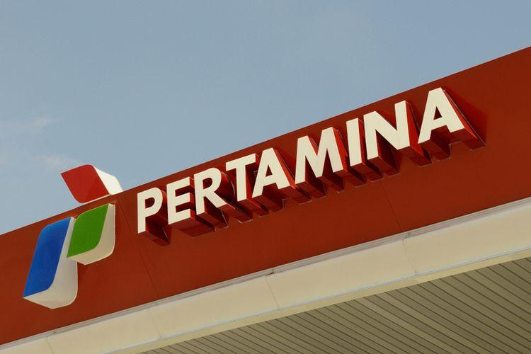 Ilustrasi logo Pertamina.