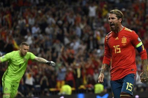 Setelah Pecahkan Rekor Casillas, Ramos Ingin Tampil dalam Olimpiade