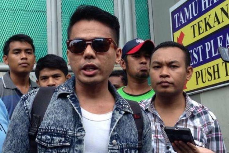 Robby Abbas di Rutan Klas 1 Cipinang, Jakarta Timur, Selasa (10/5/2016).