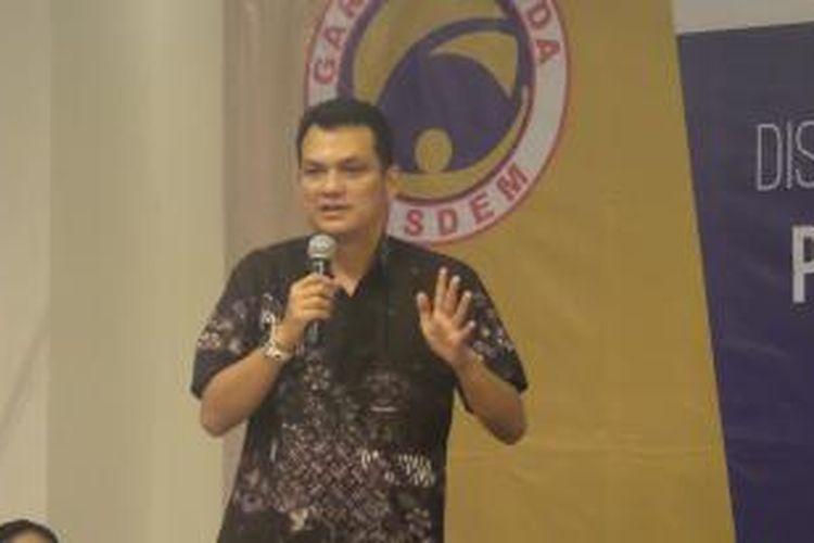 Ketua DPP Partai Nasdem Martin Manurung