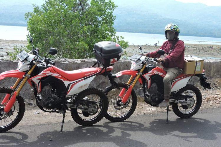 Honda CRF150 Menjadi Motor Ambulans di Larantuka