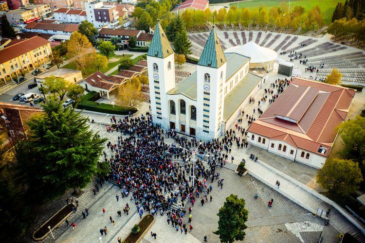 St. James Church di Medjugorje, Bosnia dan Herzegovina