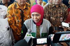 Gubernur Jatim Beri Santunan Keluarga Suami Istri yang Tewas Tertimpa Pohon