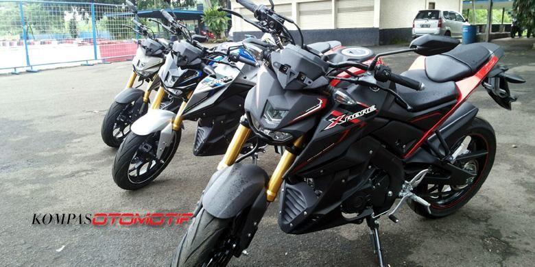Yamaha Xabre, model sport dengan desain radikal.