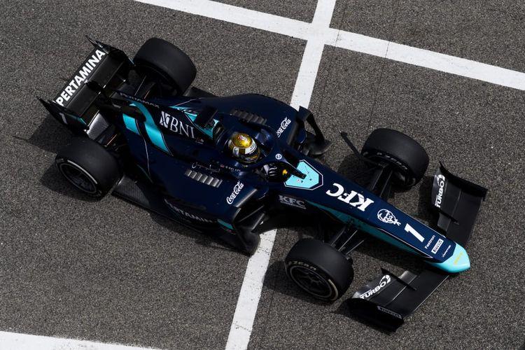 Sean Gelael siap balapan Formula 2 di musim 2020