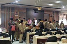 Puluhan Kades Datangi DPRD Lamongan, Tuntut Kesejahteraan Ditingkatkan